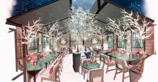 Rosewood London's Winter Terrace