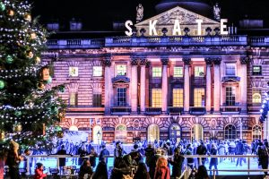Skate at Somerset House with Fortnum & Mason