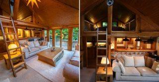 The Romantic Oak Cabin