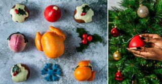 Christmas Baobles at Taste of London
