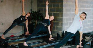 Beginner Reformer Pilates at Frame