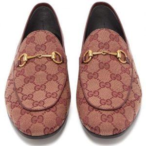 Gucci Jordaan GG Jacquard Shoes