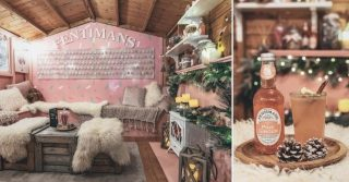 Head To Fentimans Pink Gingerbread House