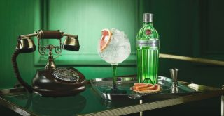 Enjoy A Gin At The Tanqueray Townhouse