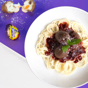 Creme Egg Spaghetti Bolognese? You Must Be Yolking…