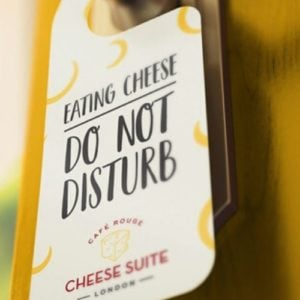 We'll Keep It Brie-f: There's A Cheese Hotel Coming To Town