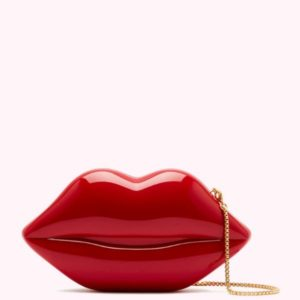 Classic Red Lips Clutch