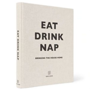 Eat Drink Nap Hardcover Book