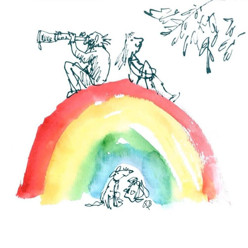 Quentin Blake's Free Rainbow E-Cards Are Cheering Us Right Up Now ...
